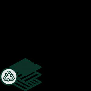 picto matériaux recyclés